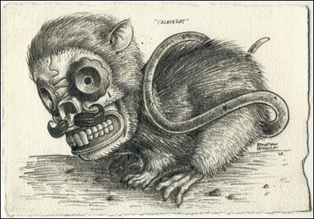 Чудные монстры от Jonathan Bergeron 14