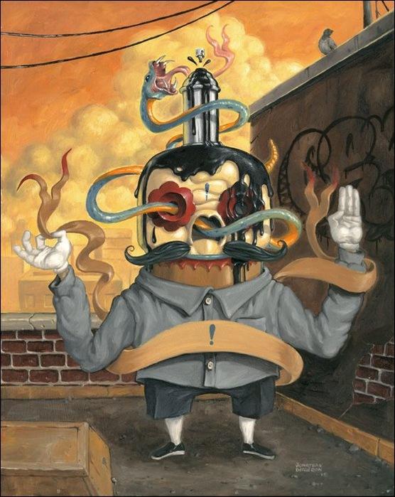 Чудные монстры от Jonathan Bergeron 17