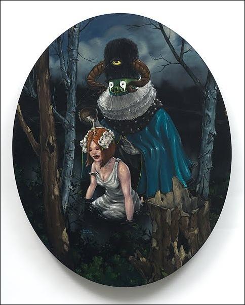 Чудные монстры от Jonathan Bergeron 19