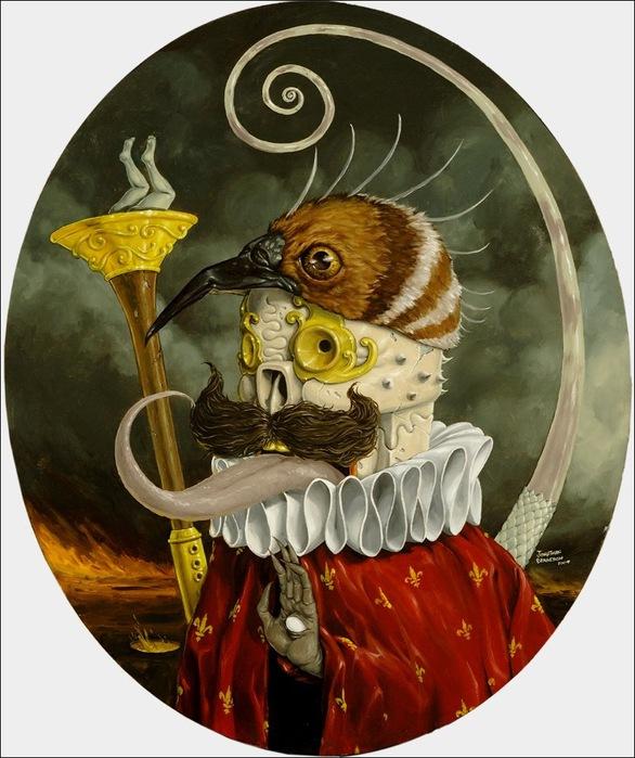 Чудные монстры от Jonathan Bergeron 22