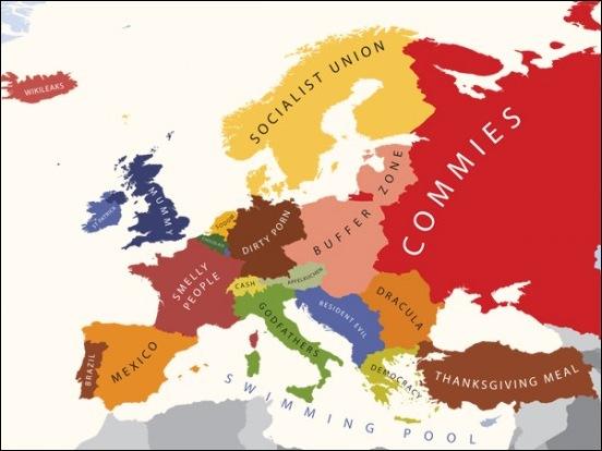 Стереотипы взаимоотношений между странами 7