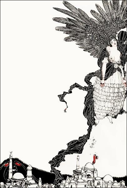 Картинки иллюстрации к Рубаи Омара Хайяма английского иллюстратора Рональда Бэлфура 4
