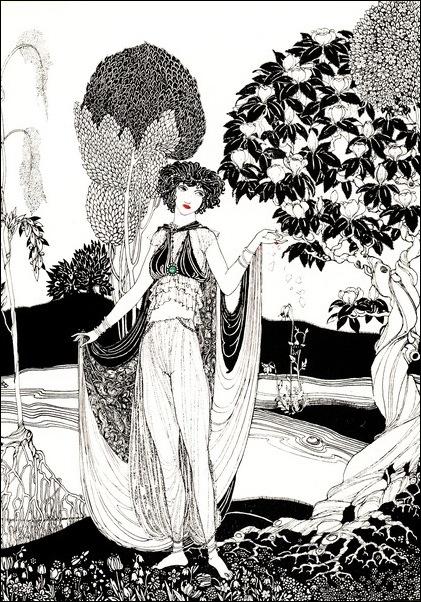 Картинки иллюстрации к Рубаи Омара Хайяма английского иллюстратора Рональда Бэлфура 9
