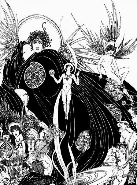 Картинки иллюстрации к Рубаи Омара Хайяма английского иллюстратора Рональда Бэлфура 18