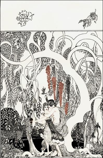 Картинки иллюстрации к Рубаи Омара Хайяма английского иллюстратора Рональда Бэлфура 21