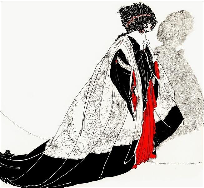 Картинки иллюстрации к Рубаи Омара Хайяма английского иллюстратора Рональда Бэлфура 26