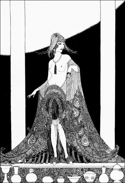 Картинки иллюстрации к Рубаи Омара Хайяма английского иллюстратора Рональда Бэлфура 32
