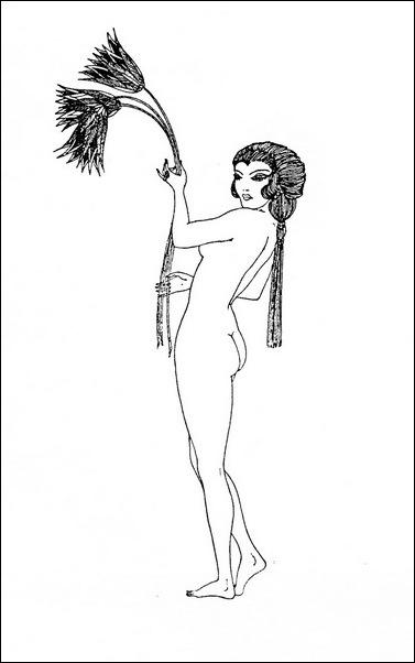 Картинки иллюстрации к Рубаи Омара Хайяма английского иллюстратора Рональда Бэлфура(подтекстные рисунки)  3