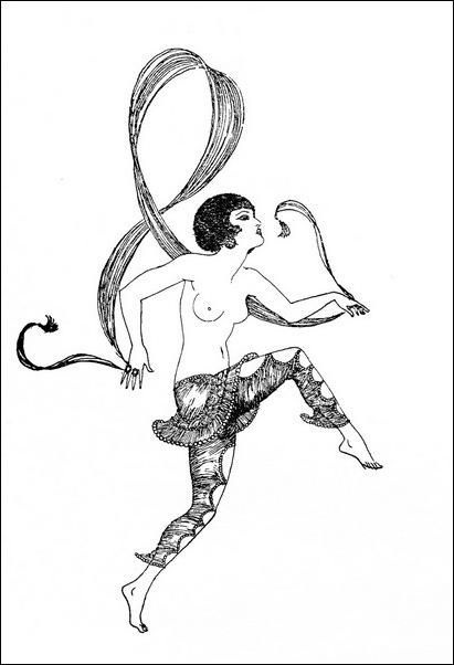 Картинки иллюстрации к Рубаи Омара Хайяма английского иллюстратора Рональда Бэлфура(подтекстные рисунки)  5
