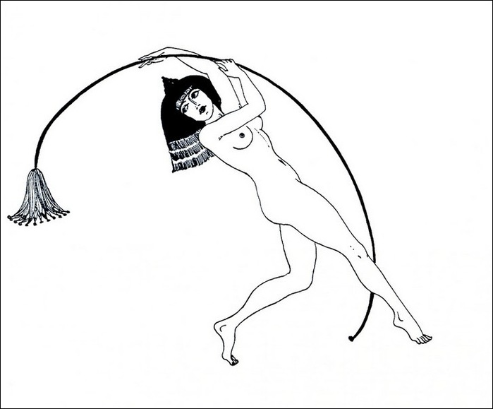 Картинки иллюстрации к Рубаи Омара Хайяма английского иллюстратора Рональда Бэлфура(подтекстные рисунки) 7