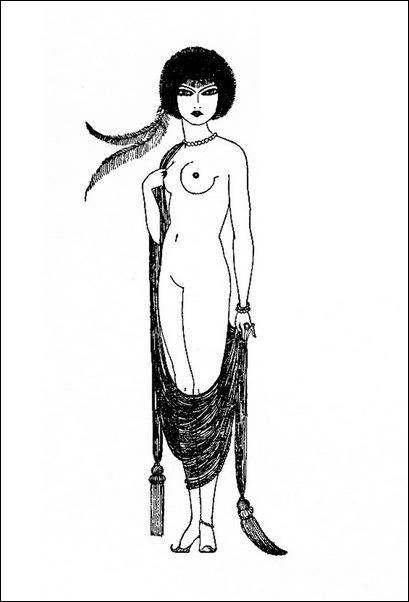 Картинки иллюстрации к Рубаи Омара Хайяма английского иллюстратора Рональда Бэлфура(подтекстные рисунки)  8