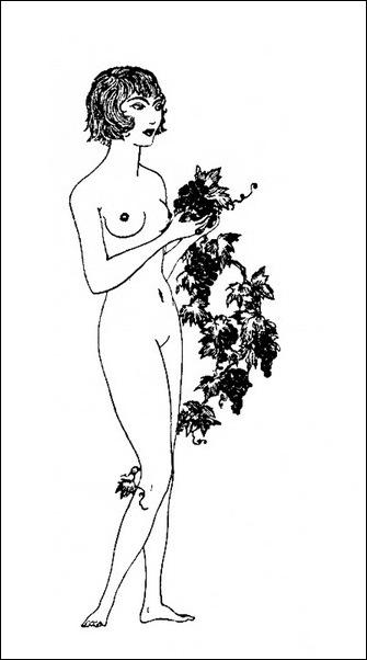 Картинки иллюстрации к Рубаи Омара Хайяма английского иллюстратора Рональда Бэлфура(подтекстные рисунки)  11