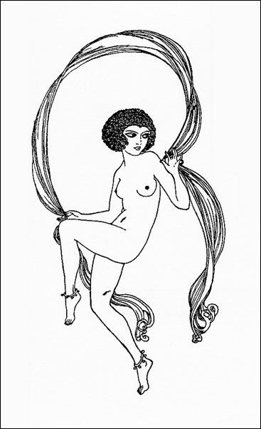 Картинки иллюстрации к Рубаи Омара Хайяма английского иллюстратора Рональда Бэлфура(подтекстные рисунки) 13