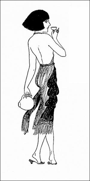 Картинки иллюстрации к Рубаи Омара Хайяма английского иллюстратора Рональда Бэлфура(подтекстные рисунки) 16