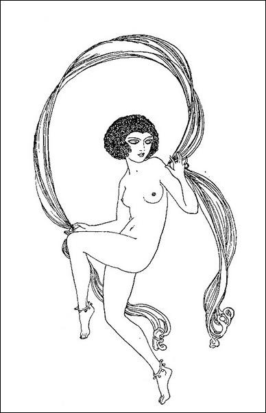 Картинки иллюстрации к Рубаи Омара Хайяма английского иллюстратора Рональда Бэлфура(подтекстные рисунки)  20