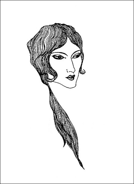Картинки иллюстрации к Рубаи Омара Хайяма английского иллюстратора Рональда Бэлфура(подтекстные рисунки) 22