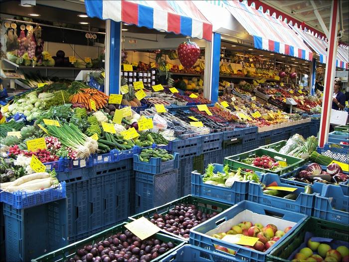 городской рынок Дюссельдорфа - Carlstadt