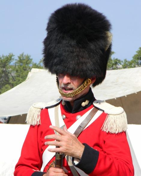 английский офицер