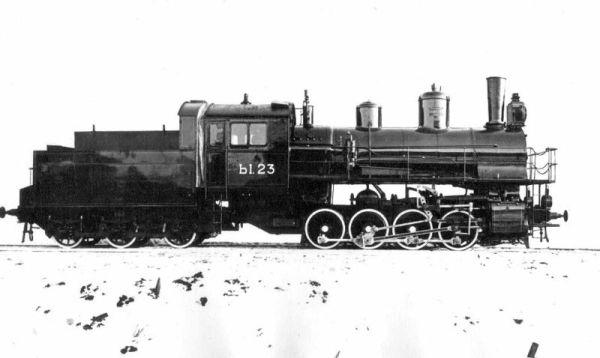 паровоз серии Ы