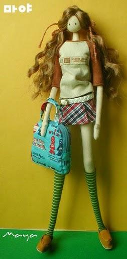 корейские куклы  в стиле Барби