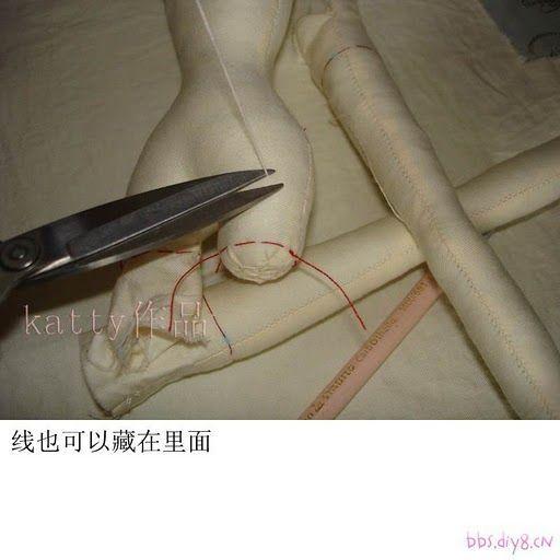 как сшить корейскую куклу фото 3