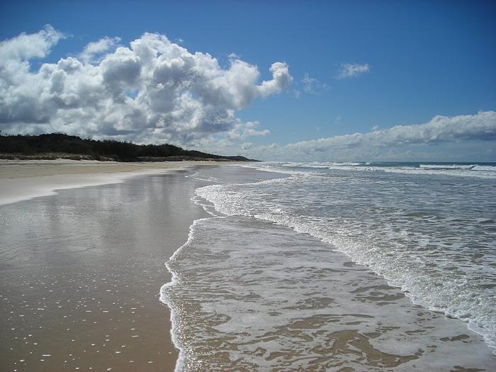 Oстров Фрейзер — объект всемирного достояния человечества и самый большой песчаный остров в мире. 12606