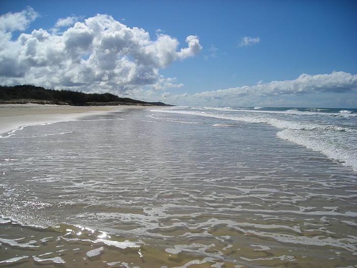 Oстров Фрейзер — объект всемирного достояния человечества и самый большой песчаный остров в мире. 25014