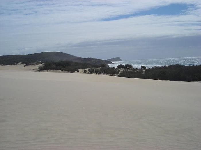 Oстров Фрейзер — объект всемирного достояния человечества и самый большой песчаный остров в мире. 58784