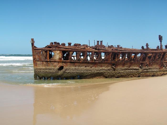 Oстров Фрейзер — объект всемирного достояния человечества и самый большой песчаный остров в мире. 11487