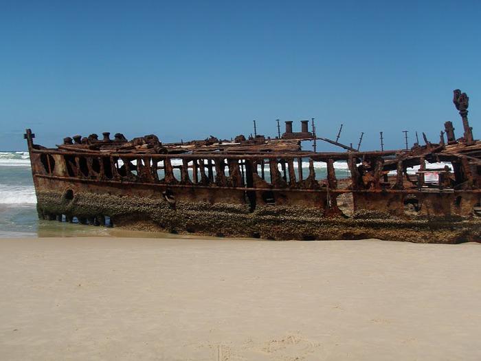 Oстров Фрейзер — объект всемирного достояния человечества и самый большой песчаный остров в мире. 65932