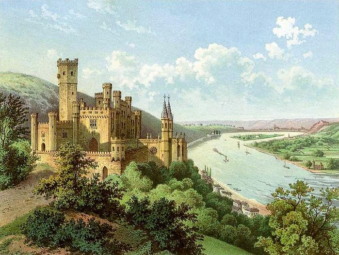 Рейнская жемчужина -Замок Штольценфельс 14321