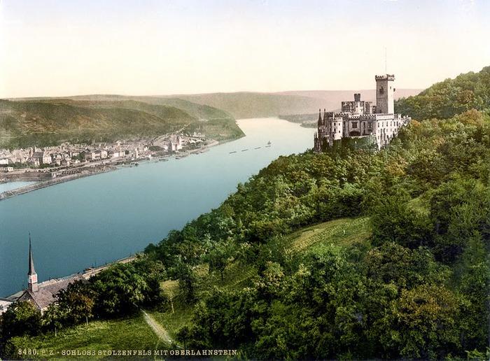 Рейнская жемчужина -Замок Штольценфельс 58343