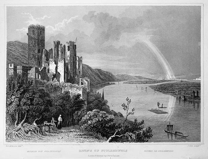 Рейнская жемчужина -Замок Штольценфельс 90070
