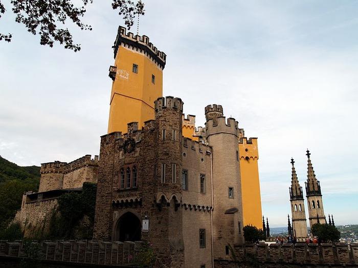 Рейнская жемчужина -Замок Штольценфельс 16761