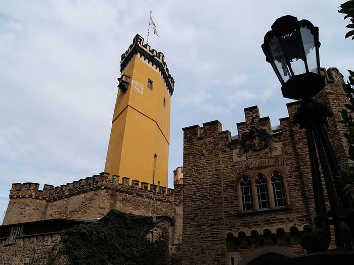 Рейнская жемчужина -Замок Штольценфельс 79151