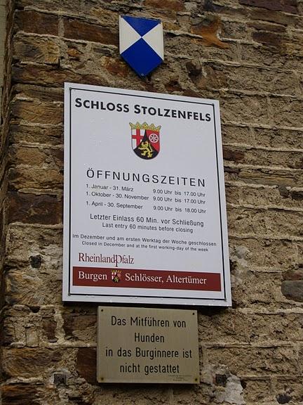 Рейнская жемчужина -Замок Штольценфельс 75822