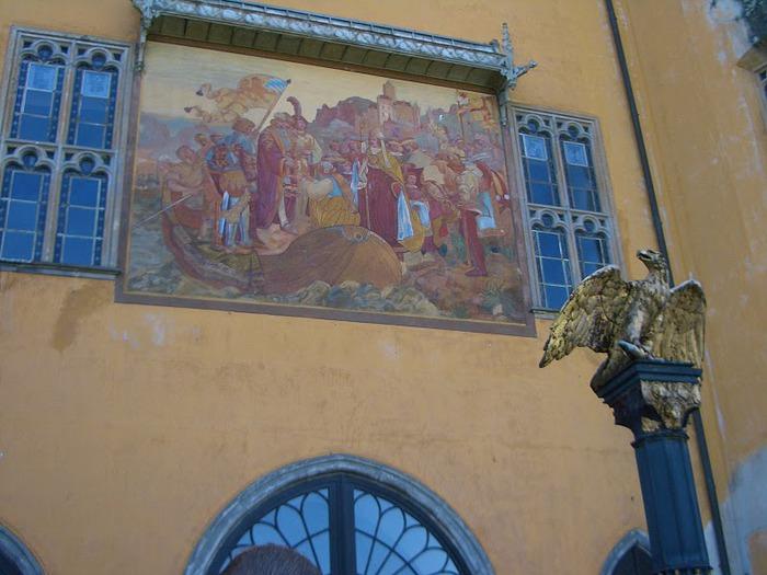 Рейнская жемчужина -Замок Штольценфельс 45911