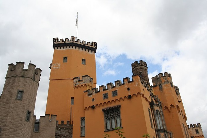 Рейнская жемчужина -Замок Штольценфельс 61423