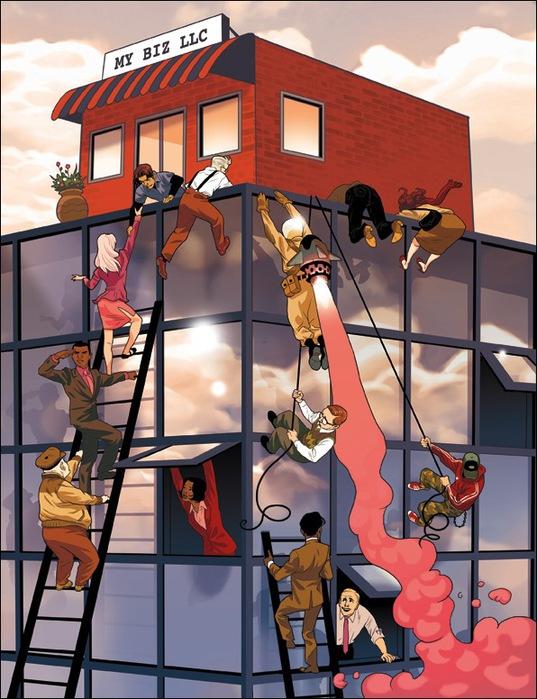 Израильские иллюстраторы Томер и Асаф Ханука (Tomer Hanuka, Asaf Hanuka) box3