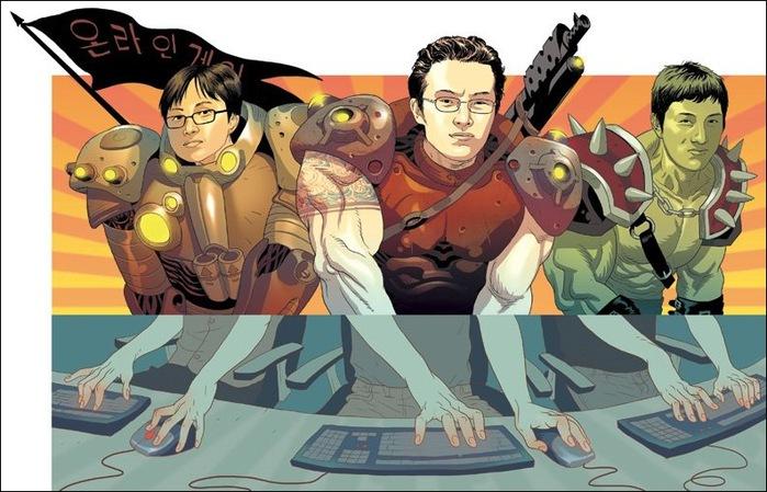Израильские иллюстраторы Томер и Асаф Ханука (Tomer Hanuka, Asaf Hanuka) gamers2
