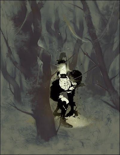 Израильские иллюстраторы Томер и Асаф Ханука (Tomer Hanuka, Asaf Hanuka) GhostBoyS