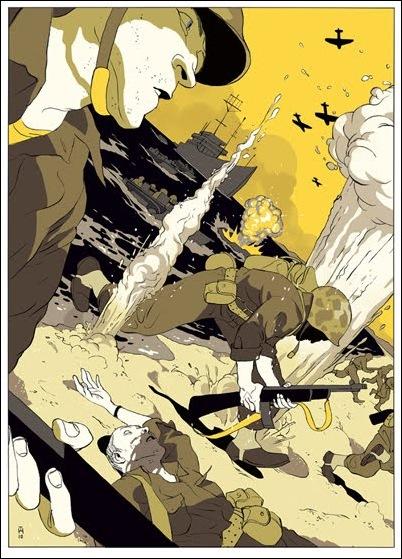 Израильские иллюстраторы Томер и Асаф Ханука (Tomer Hanuka, Asaf Hanuka) PacificYel
