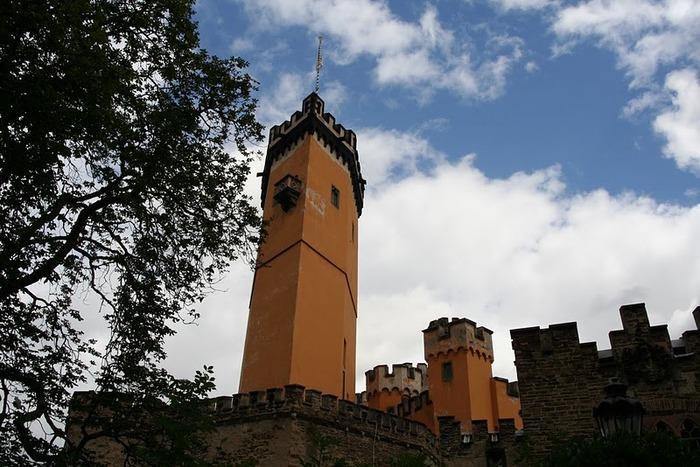 Рейнская жемчужина -Замок Штольценфельс 95524
