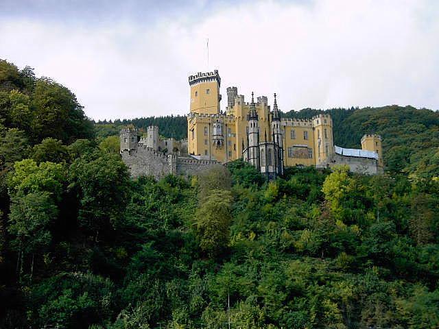 Рейнская жемчужина -Замок Штольценфельс 86884