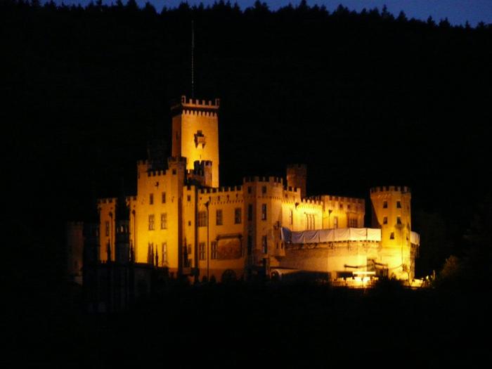 Рейнская жемчужина -Замок Штольценфельс 76479