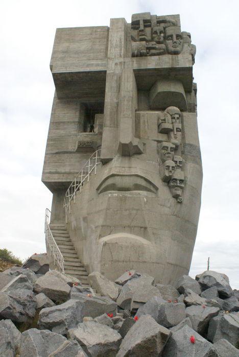 маска скорби памятник эрнста неизвестного жертвам политических репрессий