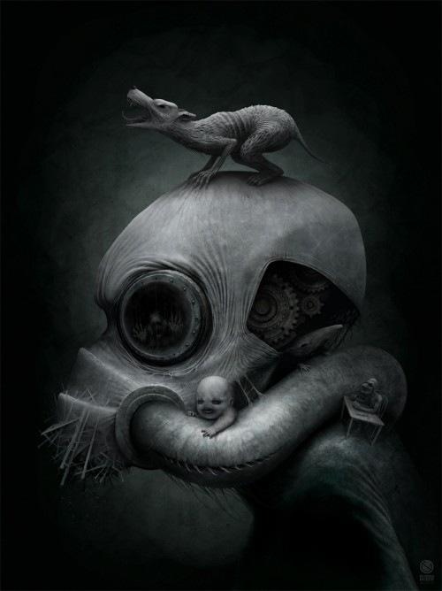 Иллюстрации Антона Семёнова известного под ником Gloom82 9
