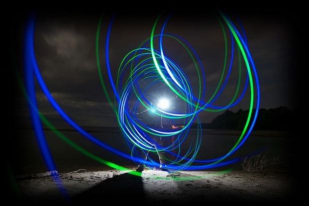 100 великолепных примеров светографики (Light Painting) 15