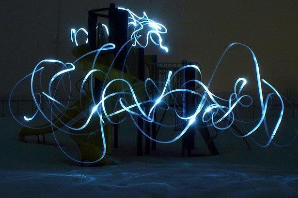 100 великолепных примеров светографики (Light Painting) 53