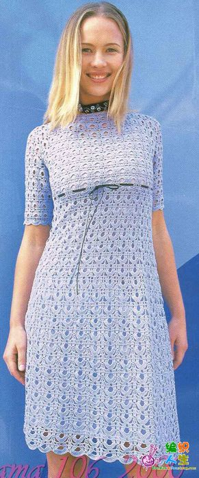 crafts for summer: lace dress for women, free crochet patterns